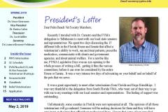 PB Vet Society Newsletter Spring 2019 Page 1